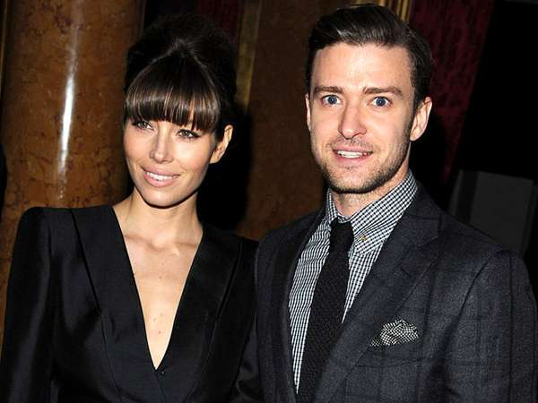 Duo Stylish Justin Timberlake & Jessica Biel