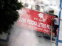 Bank BPR Ciputat Raya Terbakar