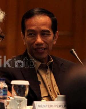 Jokowi Bangun Kampung Deret di Bekas Area Kebakaran Tanah Tinggi
