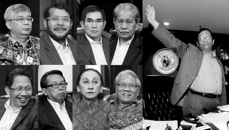 9 Hakim Konstitusi Berpeluang Pimpin MK, Siapa Terkuat?