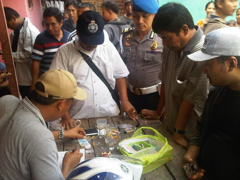 Kampung Narkoba di Medan Kembali Digerebek Polisi