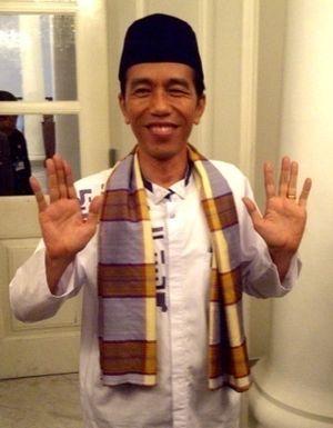 Jokowi Dianggap Sebagai \Jimat\ Kongres PSSI