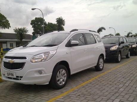 Paket Aksesoris Chevrolet Spin