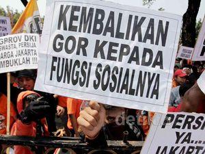 Jokowi Kembali Didemo Persija