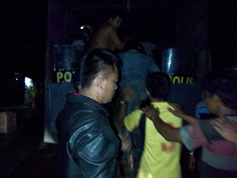 Polisi Amankan Puluhan Warga Terduga Penganiaya Kapolsek Dolok Pardamean