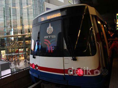BTS Skytrain Solusi Bangkok Atasi Kemacetan