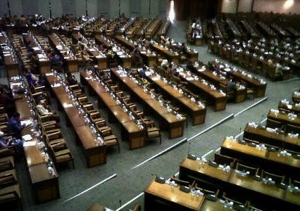 230 Anggota DPR Bolos Paripurna
