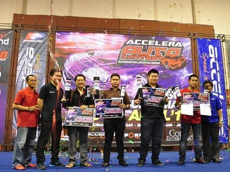 Ini Dia Raja Modifikasi di Accelera Surabaya