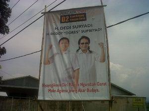 Deddy Dores Ramaikan Bursa Pilbup Garut, Charly \Setia Band\ Juga?