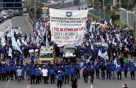 Buruh Ancam Demo Tolak Kenaikan Harga BBM Subsidi