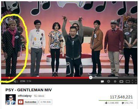 Ada G Dragon Di Video Klip Gentleman Psy