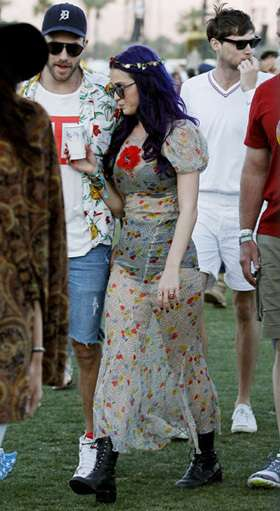 5 Gaun Menerawang Katy Perry di Red Carpet