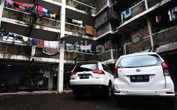Djan Faridz Larang Rusun Subsidi Ada Tempat Parkir Mobil Pribadi
