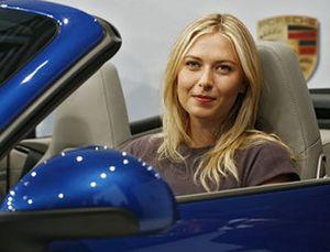 Porsche Pinang Maria Sharapova