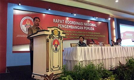 Rakornas Kemenpora Tahun 2013 Untuk Pengembangan Pemuda Indonesia