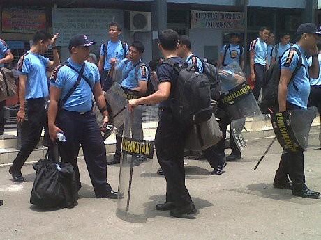 3 Napi Terluka dalam Bentrok di LP Tanjung Gusta Sumut