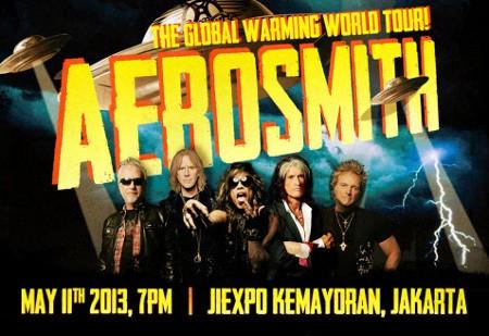 Mau Tiket Gratis Konser Aerosmith?