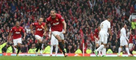 MU Tekuk Swansea dalam Laga Terakhir Fergie di Old Trafford