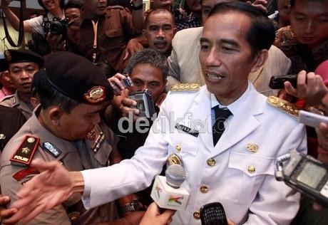 Jokowi Resmikan Kejuaraan Badminton di Istora Senayan
