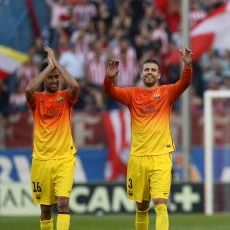 Barcelona Tandai Juara dengan Kemenangan