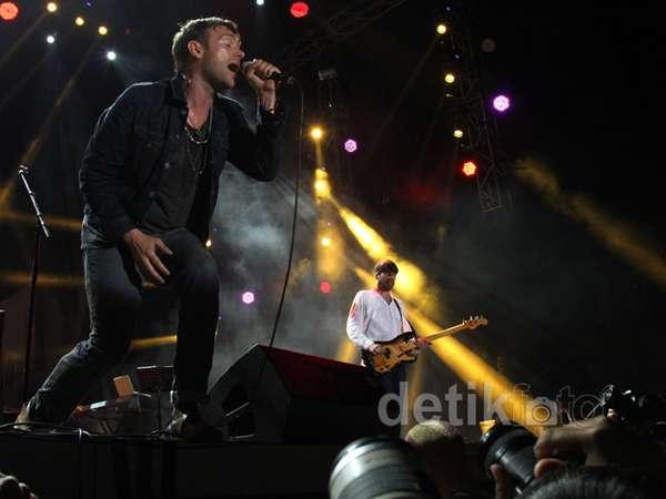 Konser Blur di Jakarta