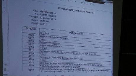 Rekaman Sadapan dengan LHI Diputar, Ahmad Rozi Ogah Komentar
