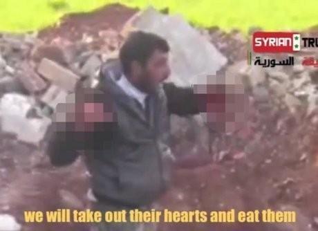 Ini Pengakuan Komandan Milisi yang Memakan Jantung Tentara Suriah