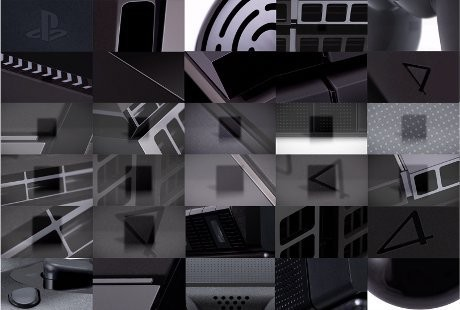 Puzzle desain PlayStation 4