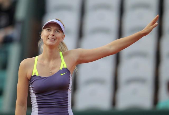 Sharapova ke Babak Kedua Prancis Terbuka