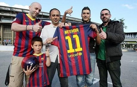 Neymar Pakai Nomor 7 atau 11?