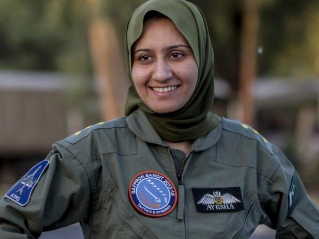Ayesha Farooq, Pilot Jet Tempur Perempuan Pertama di Pakistan dan Berjilbab