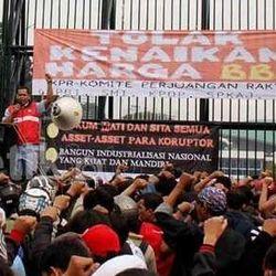 19.474 Personel Polisi Amankan Demo BBM di Jakarta