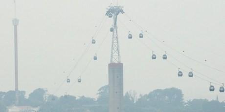 Singapura Dilanda Kabut Asap Kiriman dari Sumatera