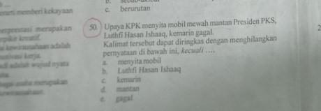 Kasus Luthfi Jadi Materi Ujian SMK, PKS Bogor Siap Lapor ke Polisi