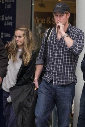 Pangeran Harry dan Cressida Bonas Makin Sering Bersama