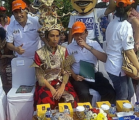 Keren! Ini Penampilan Jokowi di Jakarnaval 2013