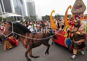 Jangan Lupa! Nanti Sore Ada Karnaval Seru di Jakarta