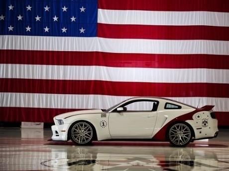 Ford Mustang Ini Terinspirasi Pesawat Jet F-16
