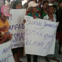 200 Warga Miskin di Jember Demo Tidak Dapat Balsem