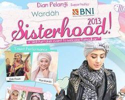 Dian Pelangi Gelar Talkshow dan Show Tunggal di Sisterhood 2013