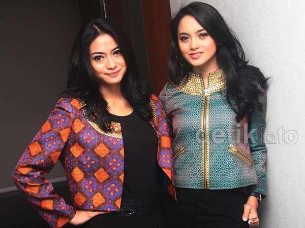 Duo Cantik Ririn Ekawati dan Rini Yulianti