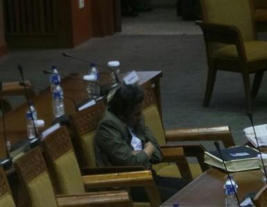 Rendy Lamadjido Tertidur Saat Paripurna DPR, PDIP Anggap Wajar