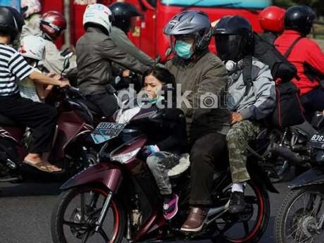 Bahaya! Jangan Mudik Pakai Motor
