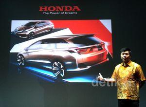 Sketsa MPV Murah Honda