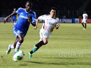 Chelsea Tundukkan Indonesia All Star 8-1