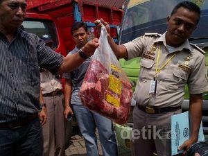 16 Ton Daging Ilegal Diamankan