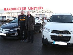 Chevy Captiva Sir Alex Ferguson Dilelang