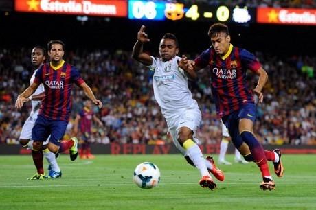 Barcelona Pesta Delapan Gol