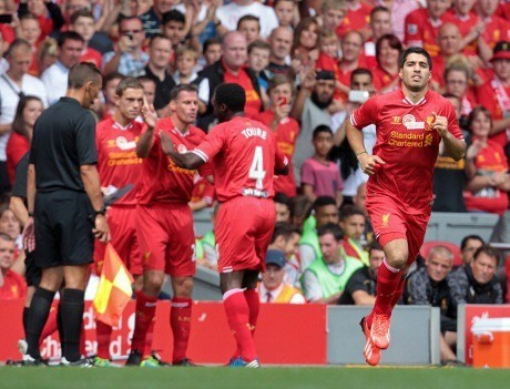 Suarez Disambut Hangat Liverpudlians, Rodgers: Begitulah Cara Liverpool