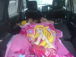Kabin Mobil Disulap Jadi Tempat Tidur Anak